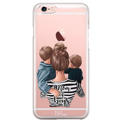 Mom of Boys Coque iPhone 6 Plus/6S Plus