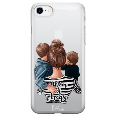 Mom of Boys Coque iPhone 7/8