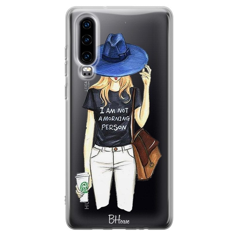 Morning Person Girl Coque Huawei P30