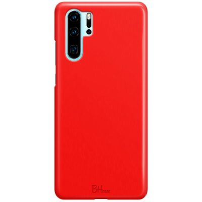 Red Apple Color Case Huawei P30 Pro