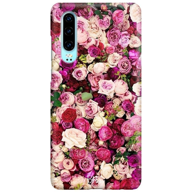 Roses Pink Coque Huawei P30