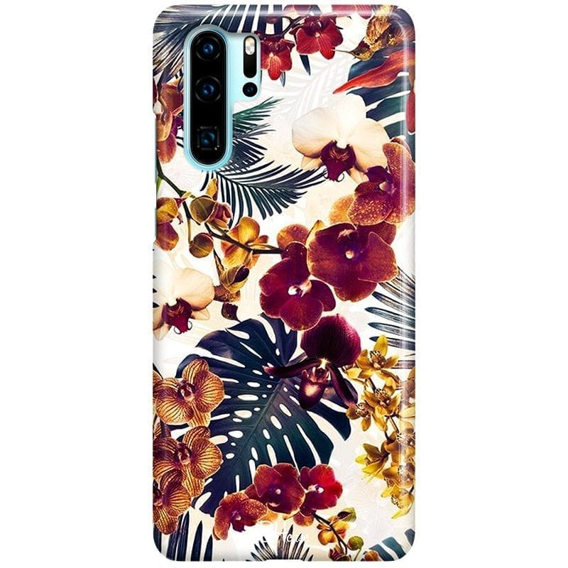 Tropical Floral Case Huawei P30 Pro