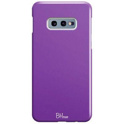 Violet Color Coque Samsung S10e