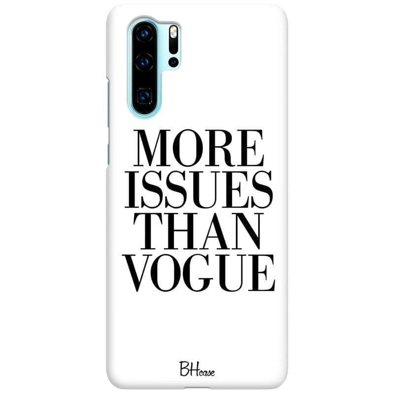 Vogue Quote Coque Huawei P30 Pro