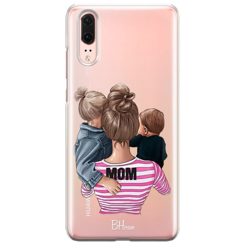 Mom Of Boy And Girl Coque Huawei P20