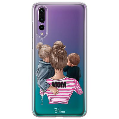Mom Of Boy And Girl Coque Huawei P20 Pro