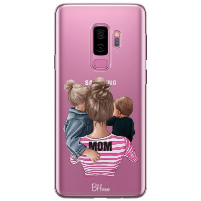 Mom Of Boy And Girl Coque Samsung S9 Plus