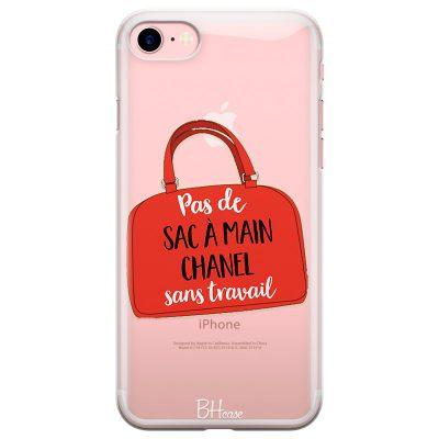 Pas De Sac À Main Chanel Sans Travail Coque iPhone 8/7/SE 2 2020