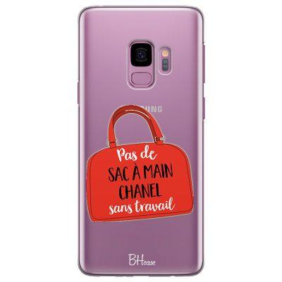 Pas De Sac À Main Chanel Sans Travail Coque Samsung S9