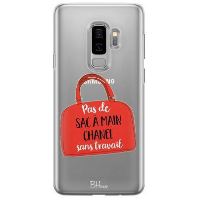 Pas De Sac À Main Chanel Sans Travail Coque Samsung S9 Plus
