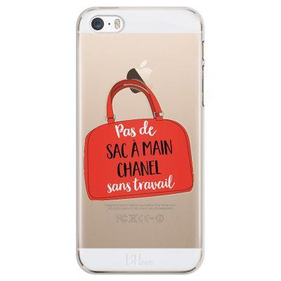 Pas De Sac À Main Chanel Sans Travail Coque iPhone SE/5S