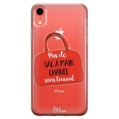 Pas De Sac À Main Chanel Sans Travail Coque iPhone XR