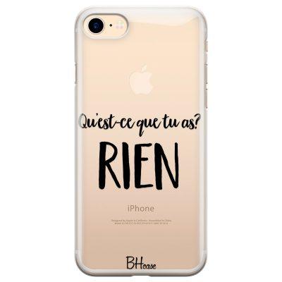 Qu'est-ce Que Tu As Coque iPhone 7/8