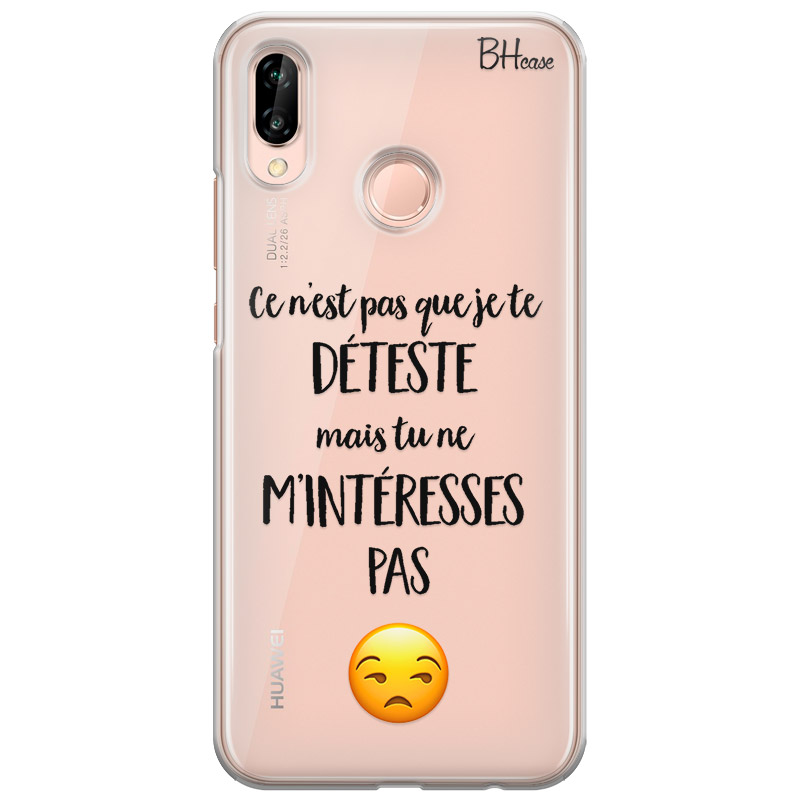 coque huawei p20 lite be happy