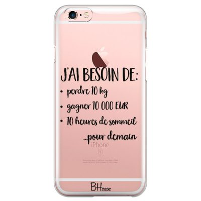 J'ai Besoin De Coque iPhone 6/6S
