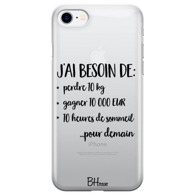 J'ai Besoin De Coque iPhone 7/8