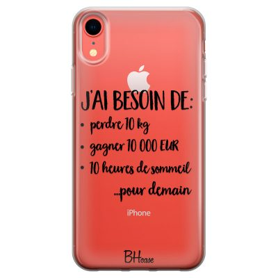 J'ai Besoin De Coque iPhone XR