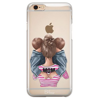 Mom Of Boy Twins Coque iPhone 6/6S