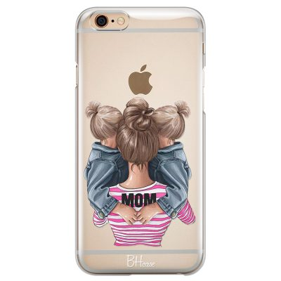 Mom Of Girl Twins Coque iPhone 6/6S
