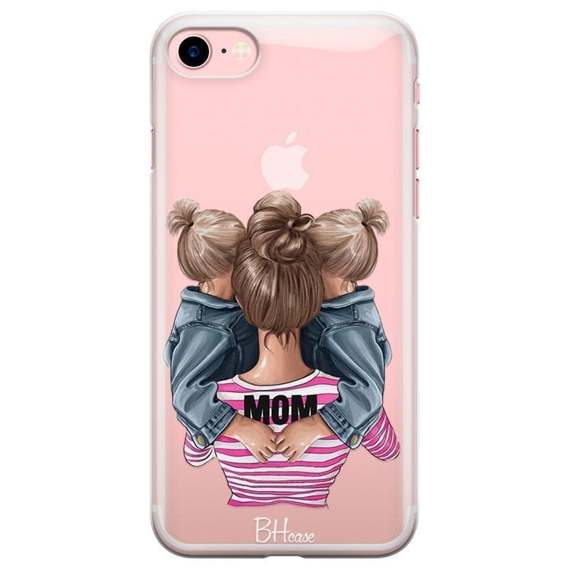 Mom Of Girl Twins Coque iPhone 7/8