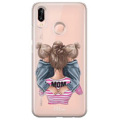Mom Of Girl Twins Coque Huawei P20 Lite/Nova 3E