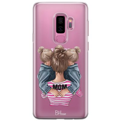 Mom Of Girl Twins Coque Samsung S9 Plus