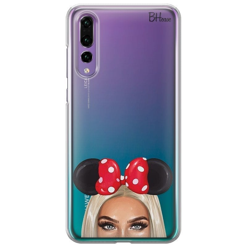 Blonde Girl With Ribbon Coque Huawei P20 Pro