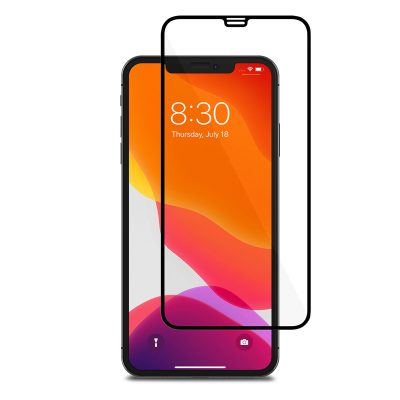 Full 3D Tempered Glass Black iPhone 11 Pro Max