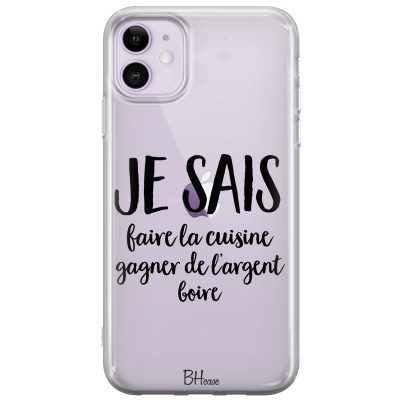 Je Sais Coque iPhone 11