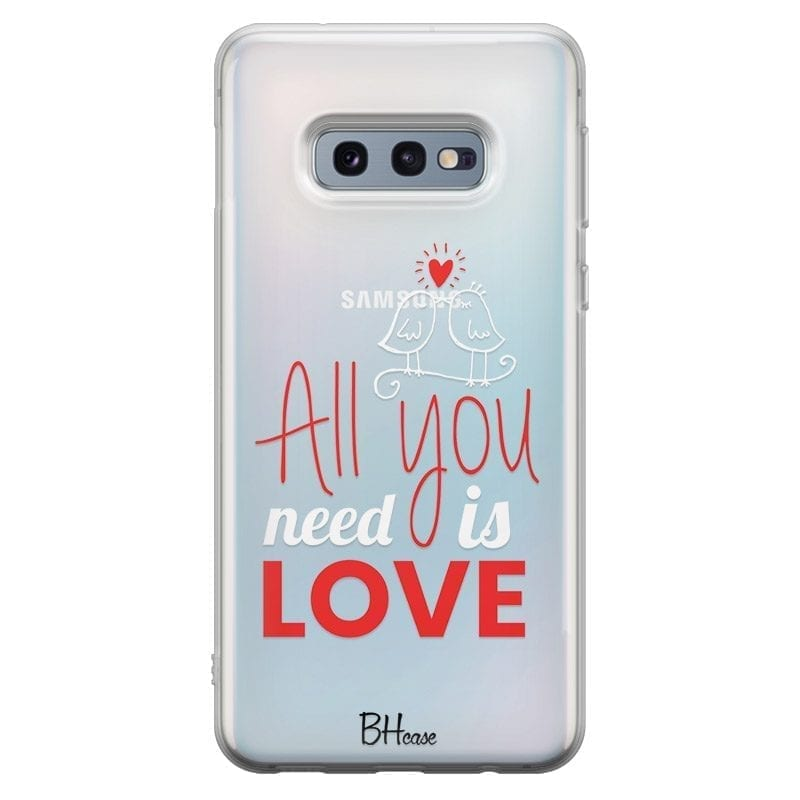 All You Need Is Love Coque Samsung S10e