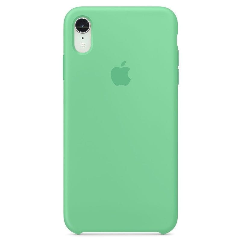 Apple Spearmint Silicone Coque iPhone XR