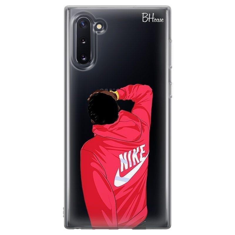 Back Boy Nike Coque Samsung Note 10