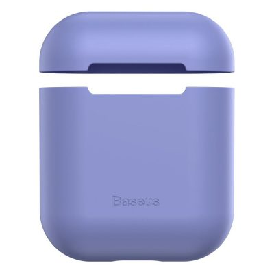 Baseus AirPods Silicone Purple Case