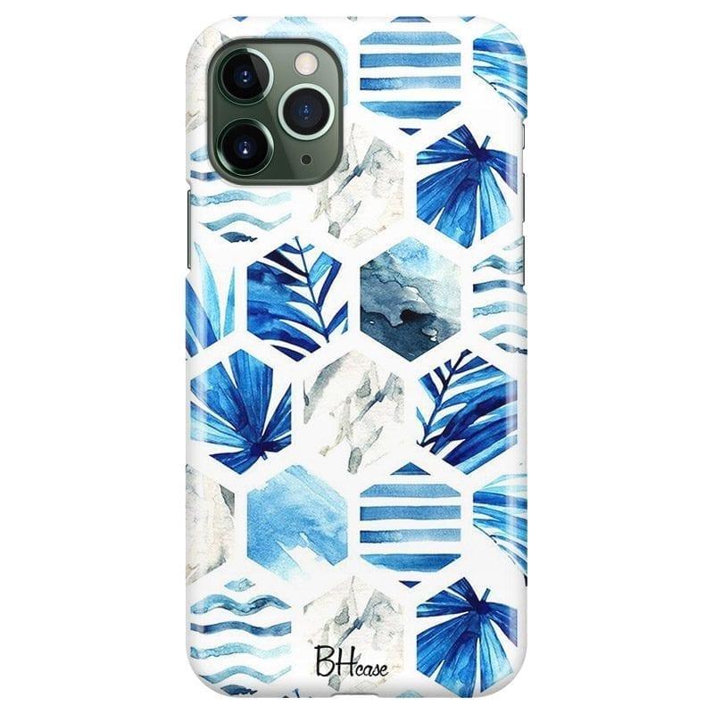 Blue Design Coque iPhone 11 Pro Max