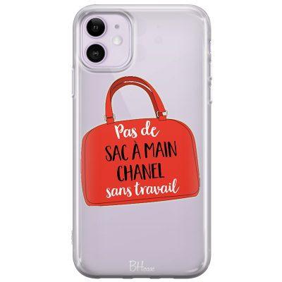 Pas De Sac À Main Chanel Sans Travail Coque IPhone 11