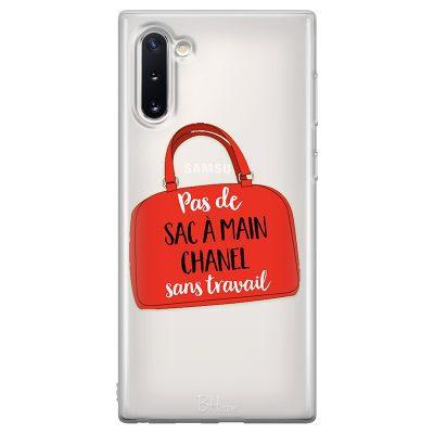 Pas De Sac À Main Chanel Sans Travail Coque Samsung Note 10