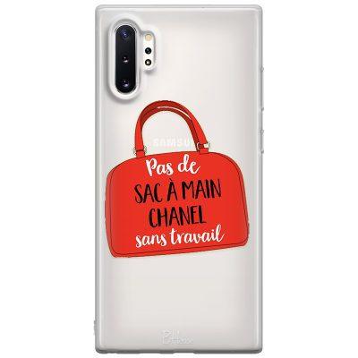 Pas De Sac À Main Chanel Sans Travail Coque Samsung Note 10 Plus