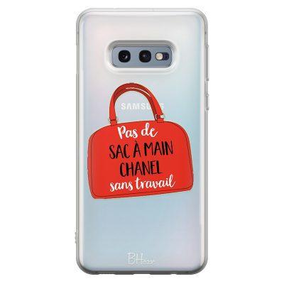 Pas De Sac À Main Chanel Sans Travail Coque Samsung S10e