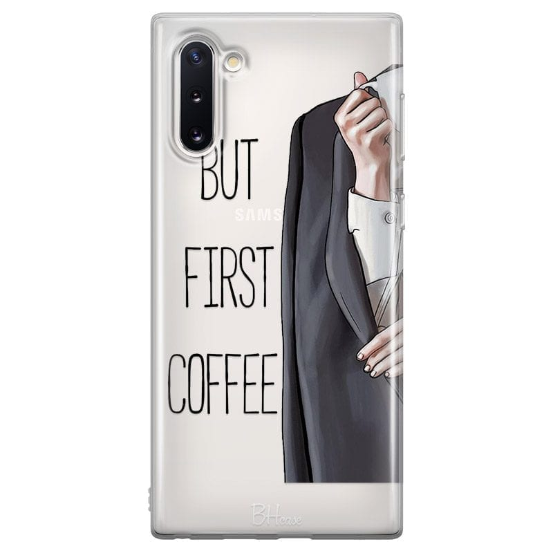 Coffee First Coque Samsung Note 10