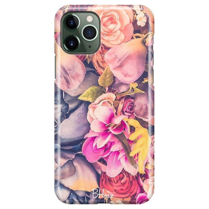 Colorful Flowers Coque iPhone 11 Pro Max
