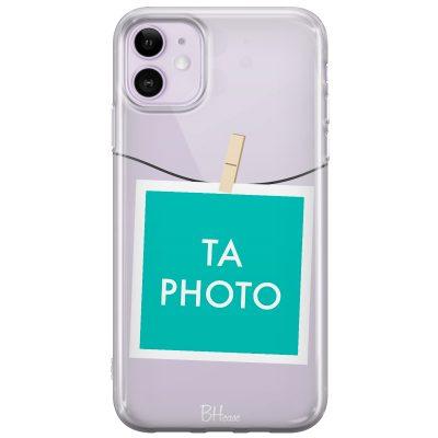Coque avec photo encadrée pour iPhone 11