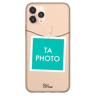 Coque avec photo encadrée pour iPhone 11 Pro Max