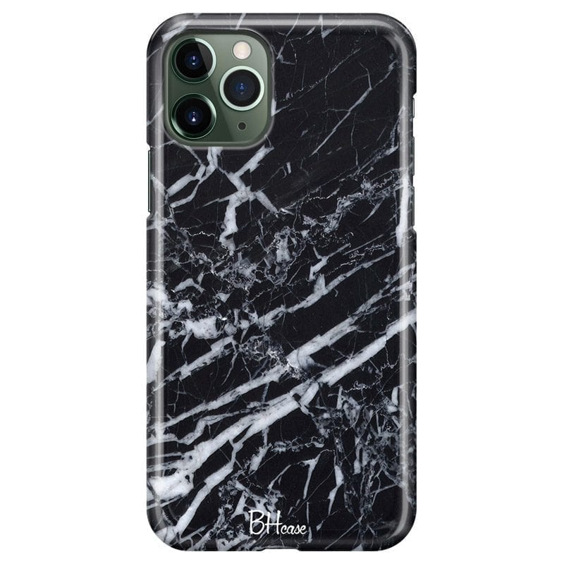 Marble Black Coque iPhone 11 Pro Max