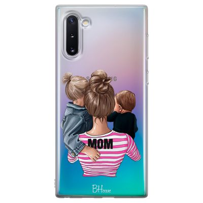 Mom Of Boy And Girl Coque Samsung Note 10