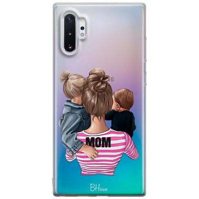 Mom Of Boy And Girl Coque Samsung Note 10 Plus