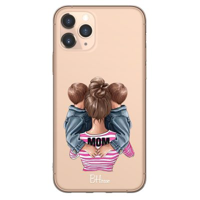 Mom Of Boy Twins Coque iPhone 11 Pro