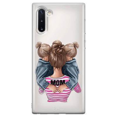 Mom Of Girl Twins Coque Samsung Note 10