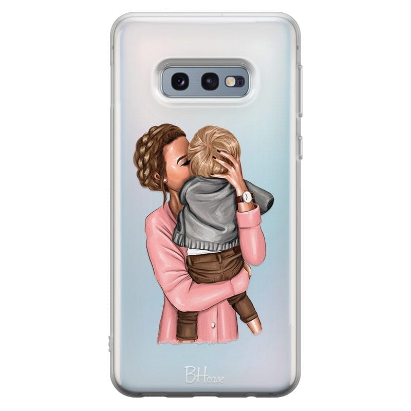 Mom With Baby Coque Samsung S10e