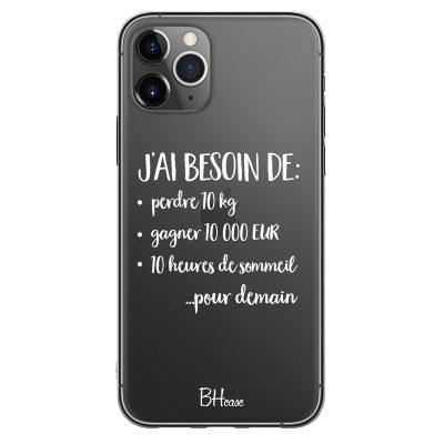 J'ai Besoin De Coque iPhone 11 Pro Max