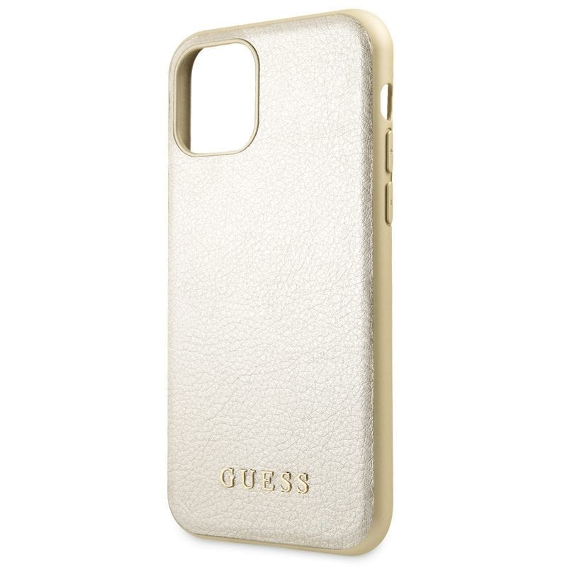Guess Iridescent Gold Coque iPhone 11 Pro